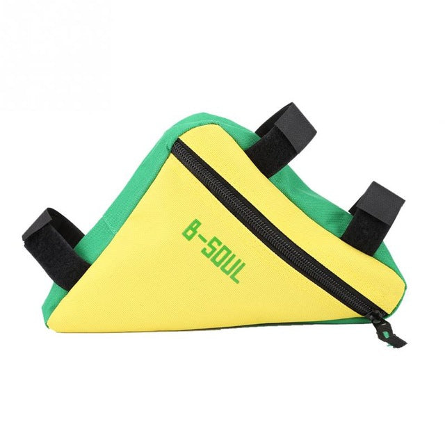 Triangle Bicycle Front Frame Tube Bag