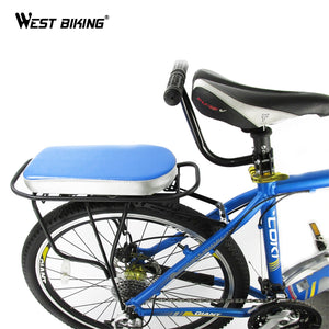 WEST BIKING Bike Cycling Kids's Safety Back Seat Hand Grip Handrail Rear