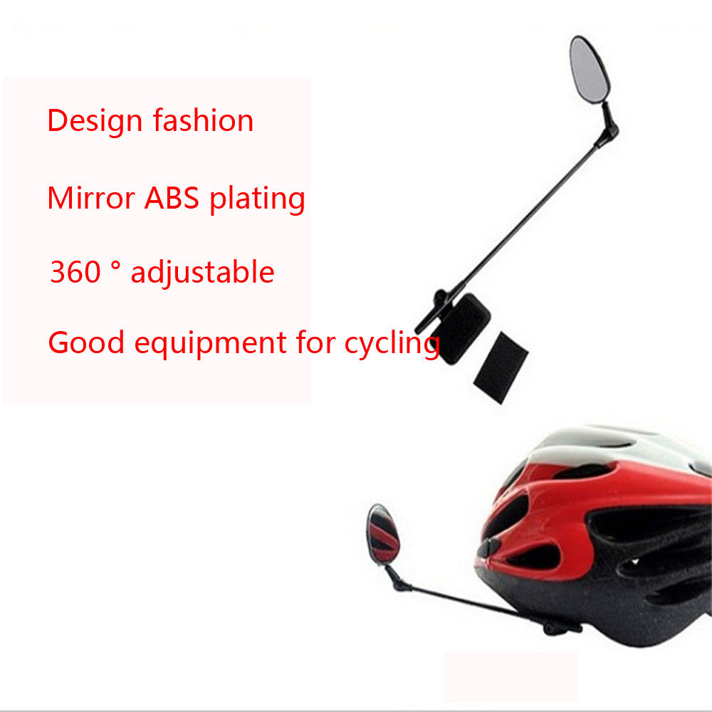 Bike Helmet Mirror Adjustable Angle