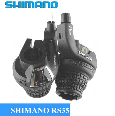 Shimano Revoshift SL-RS35 Grip Twist Shifter 3*6s 3*7s 18S 21s bike Brake Lever /Shifter Combo Set RS35