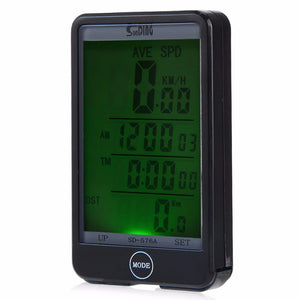 Sunding SD - 576A Wired Odometer with LCD Backlight