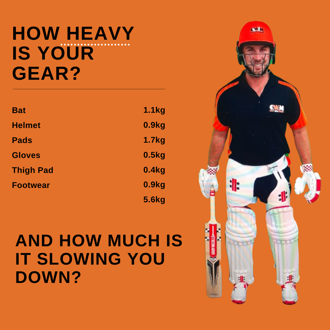Is your batting gear slowing you down?