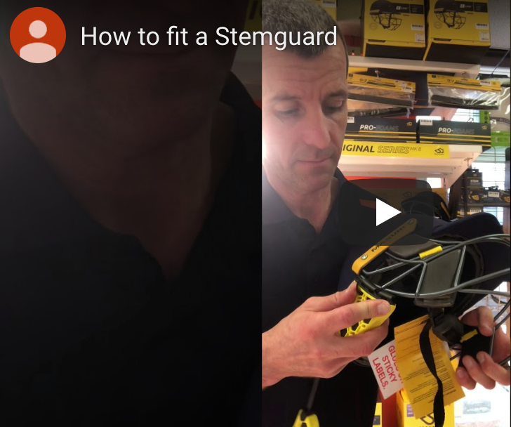 How to Fit a Stemguard to Your Helmet