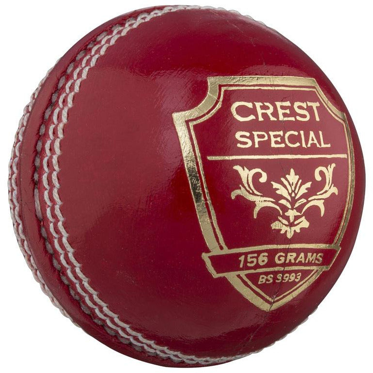 Gray Nicolls Crest Special 2pce-Red/Wht-156g
