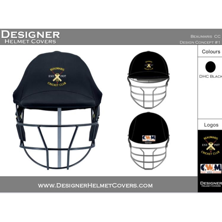 Designer Helmet Cover - Beaumaris CC
