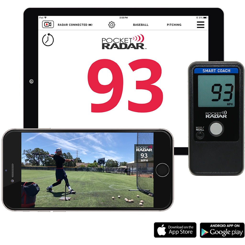 Pocket Radar Smart Coach Radar App System
