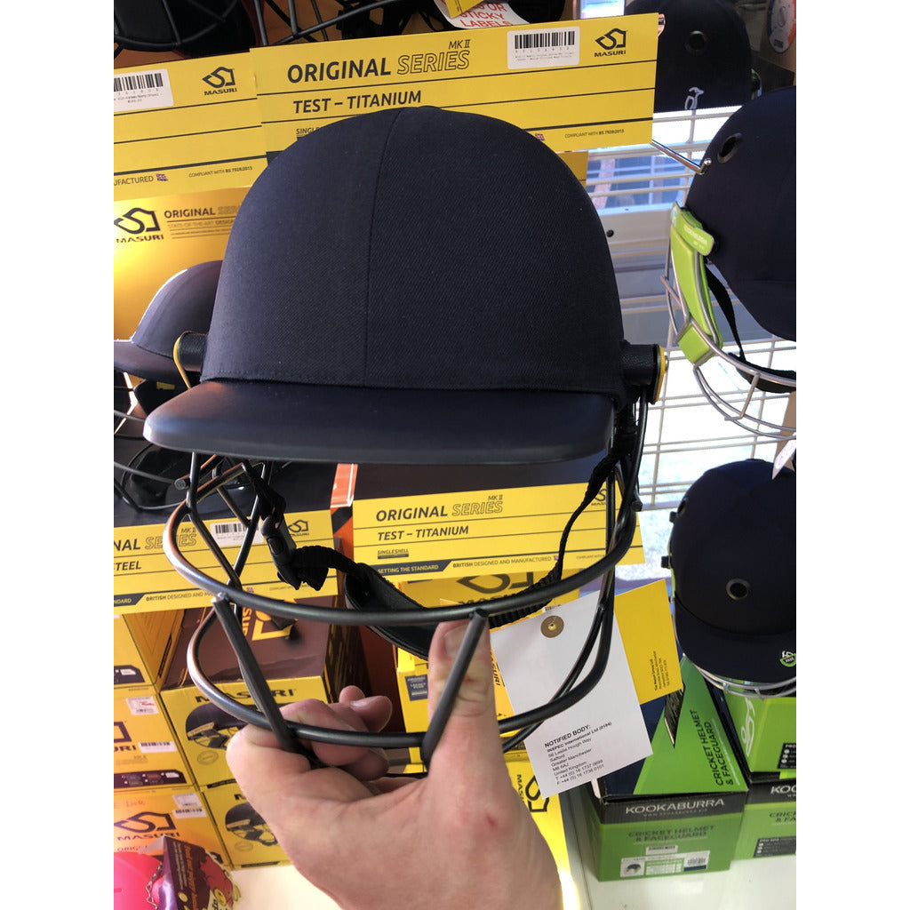 Masuri C - Line Plus Cricket Helmet