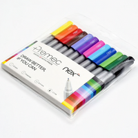 Next Fine Liner Pens set of 12 - The European Boulevard Premec Prodir Brunnen Carioca Ooly