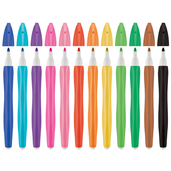 Over-X Art Erasable Coloured Pens - The European Boulevard
