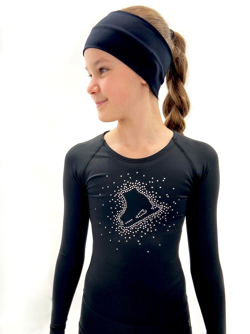 Black Skate Top - Crystal