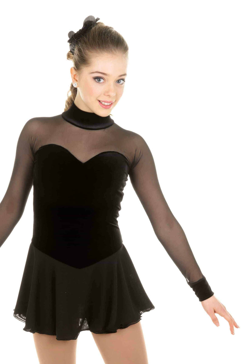 Classical Black Dress - Elite Xpression