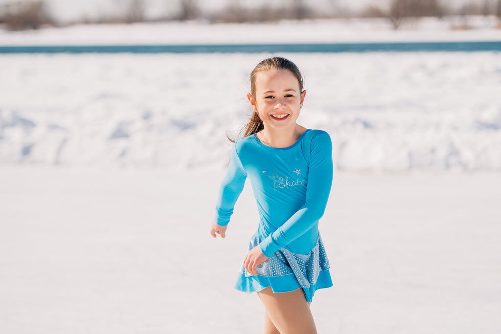 Blue Skate Like a Star Training Dress