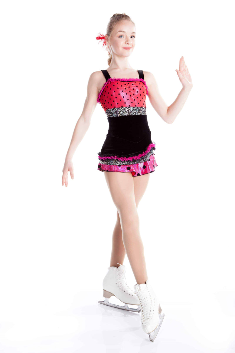 Polka Pink Dress - Elite Xpression