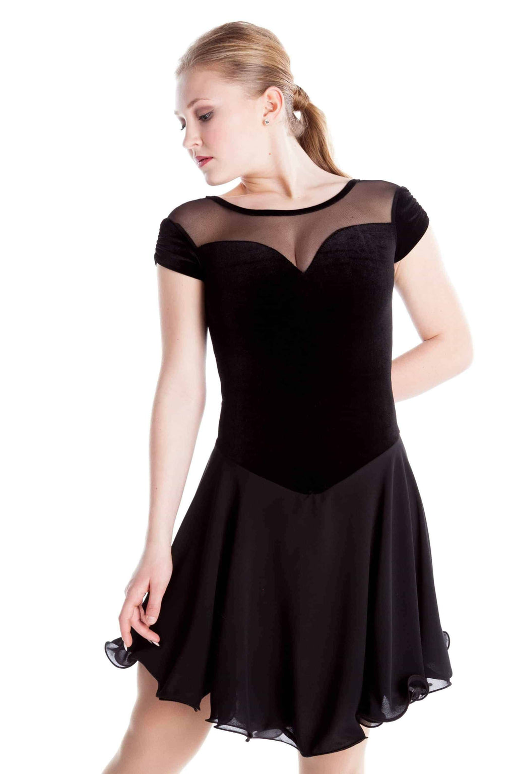 Classic Black Dance Dress - Elite Xpression