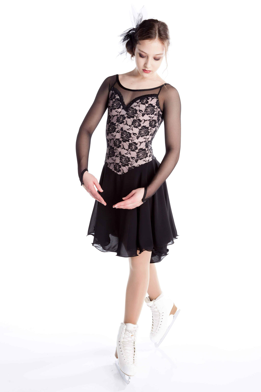 Mature Simplicity Dance - Black-Blush - Elite Xpression