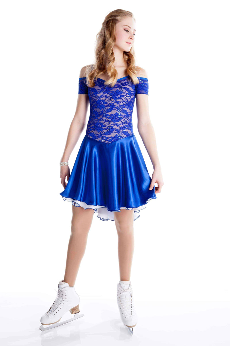 Royal Lace Dance Dress - Elite Xpression