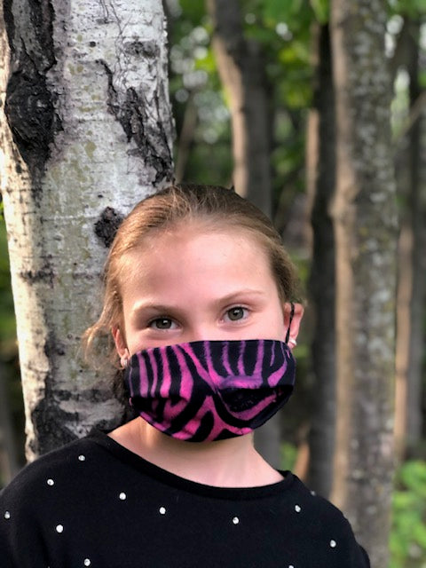 Pink Zebra Mask - Elite Xpression