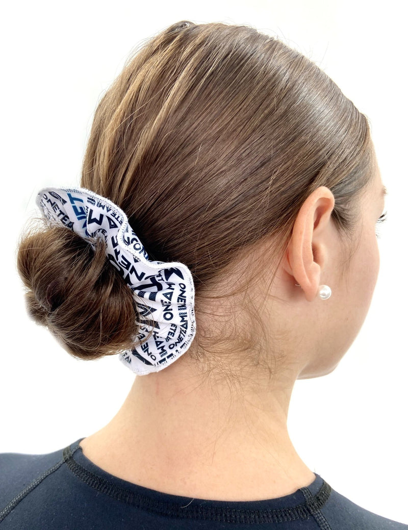 OTM Scrunchie - White