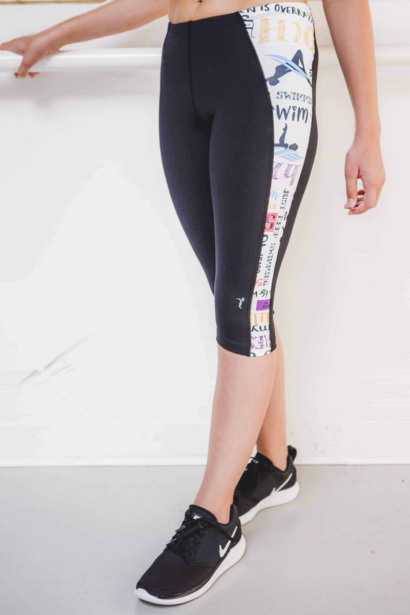 Legging Swim (White) - Elite Xpression