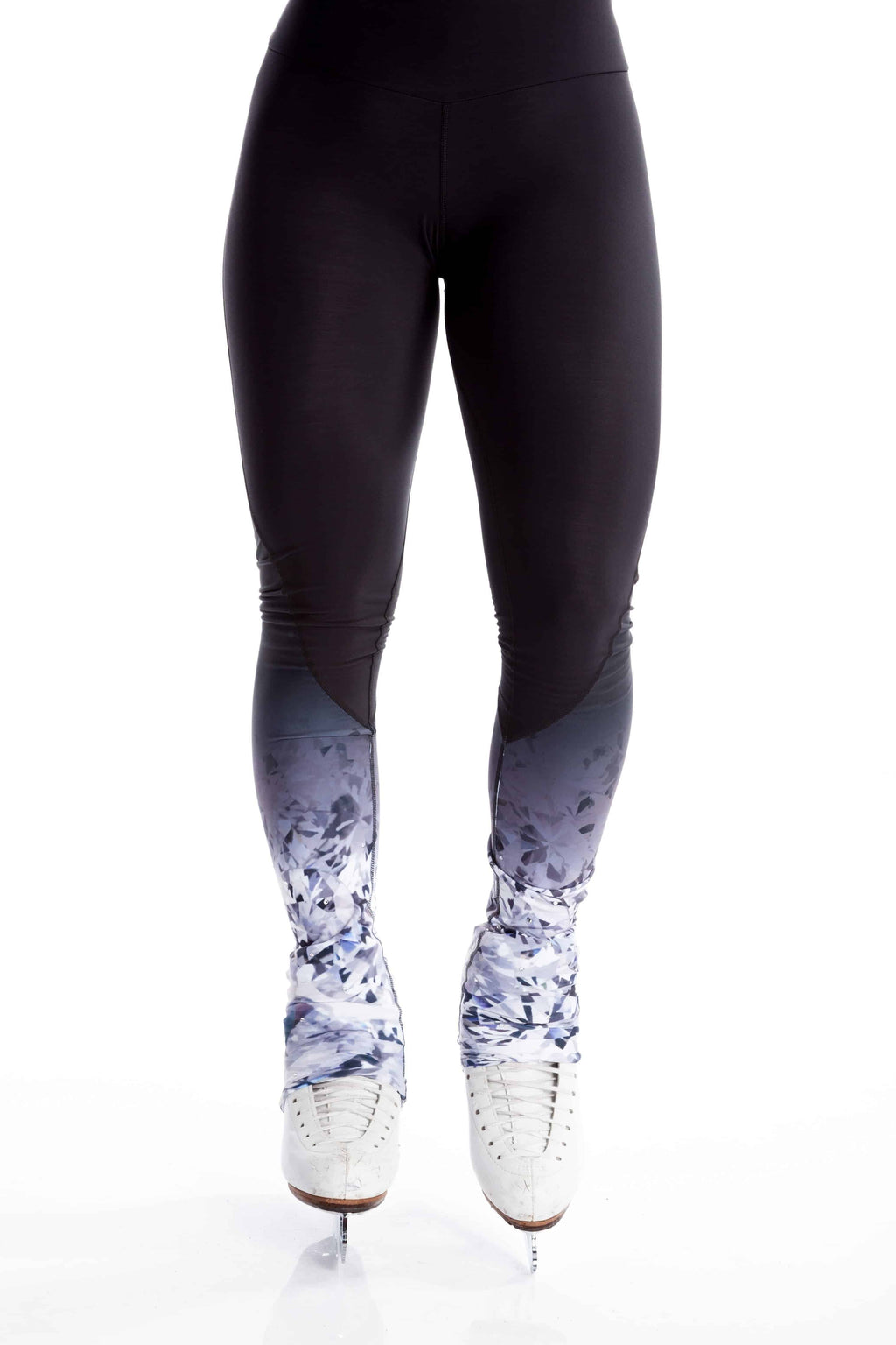 Legging with Inserts - Black Crystal - Elite Xpression