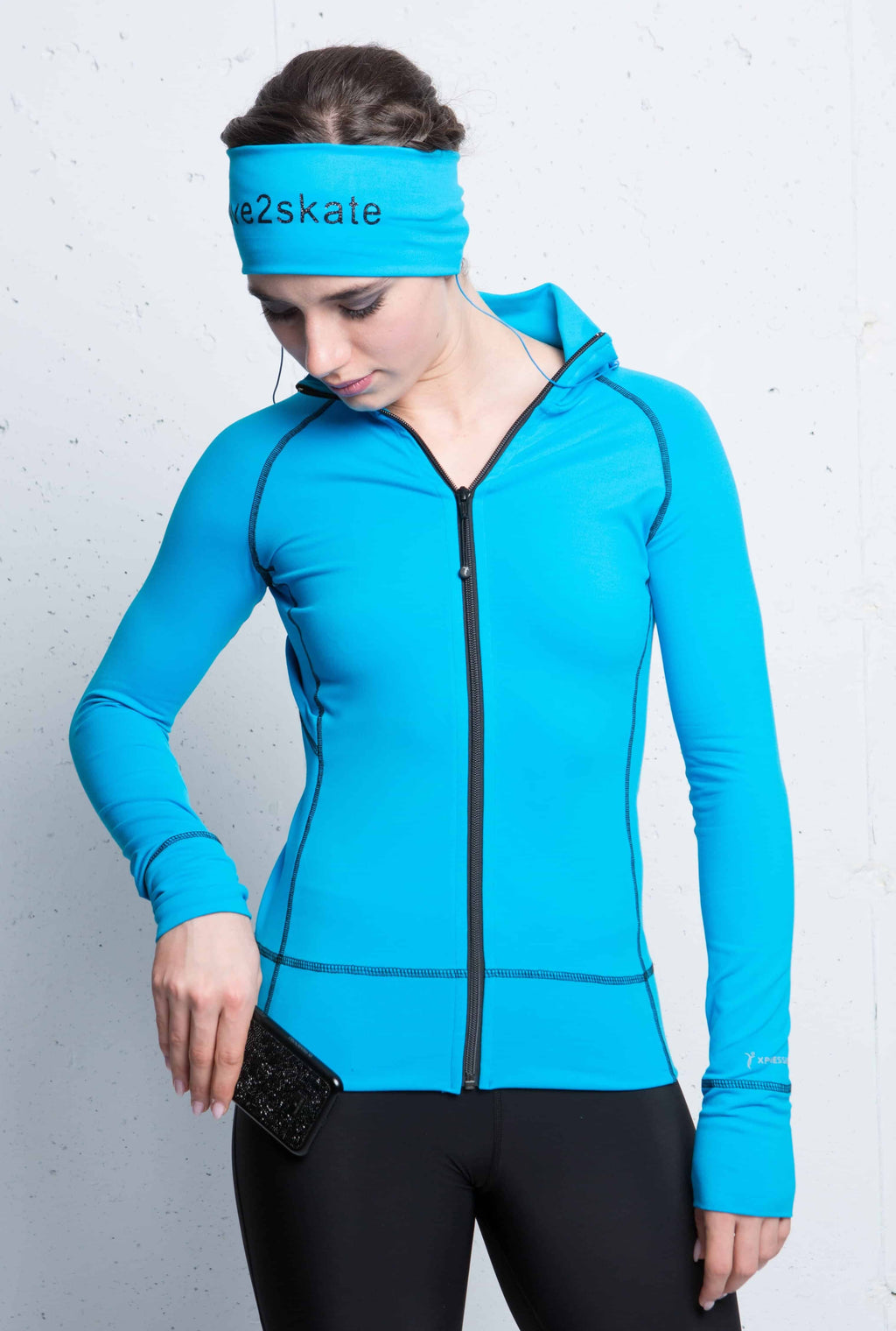 Turquoise Tech Jacket - Elite Xpression