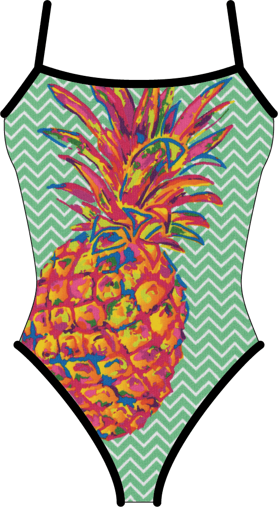 Pineapple - Mint (Black Reversible) - Elite Xpression