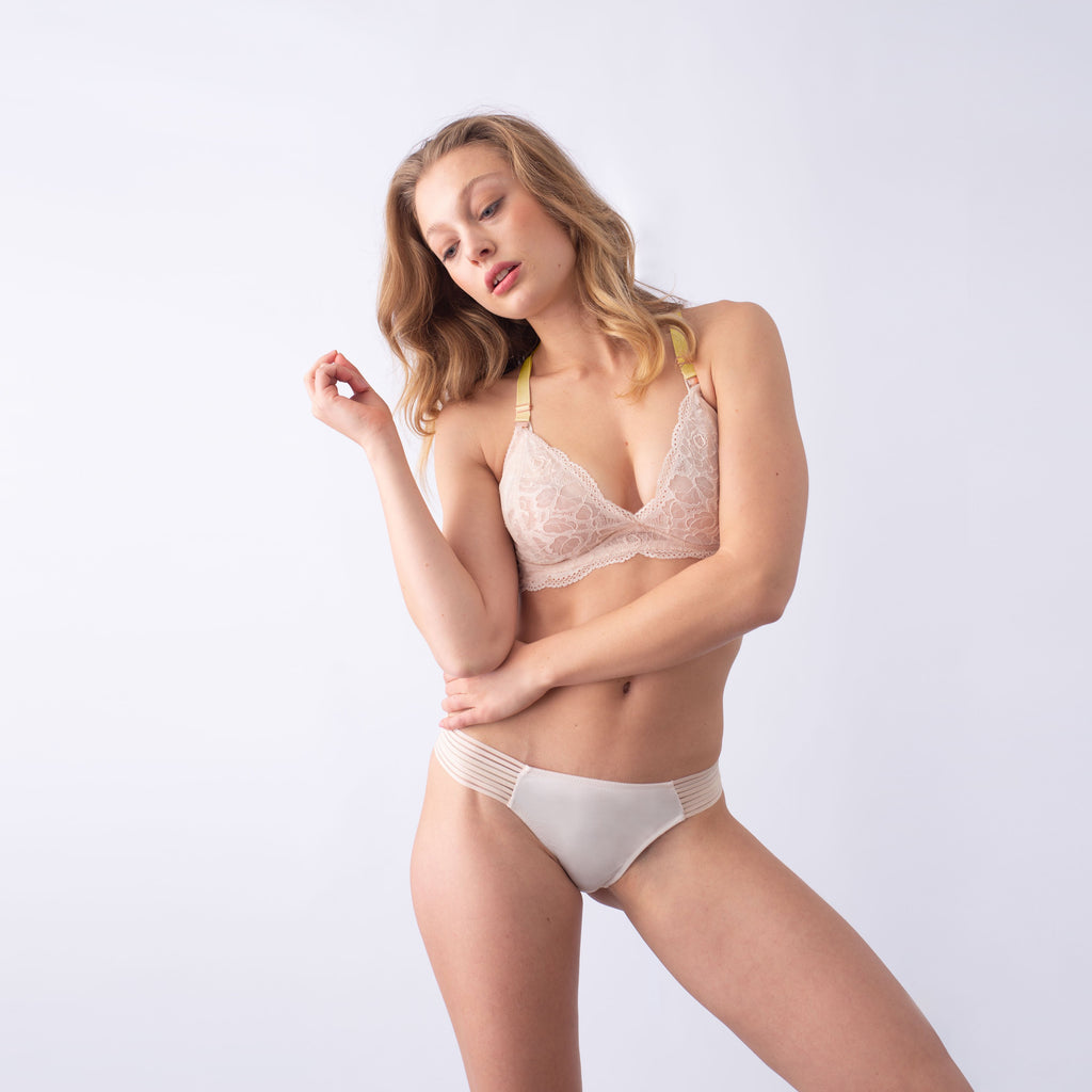 heroine lemonade shell plunge projectme nursing and maternity bra