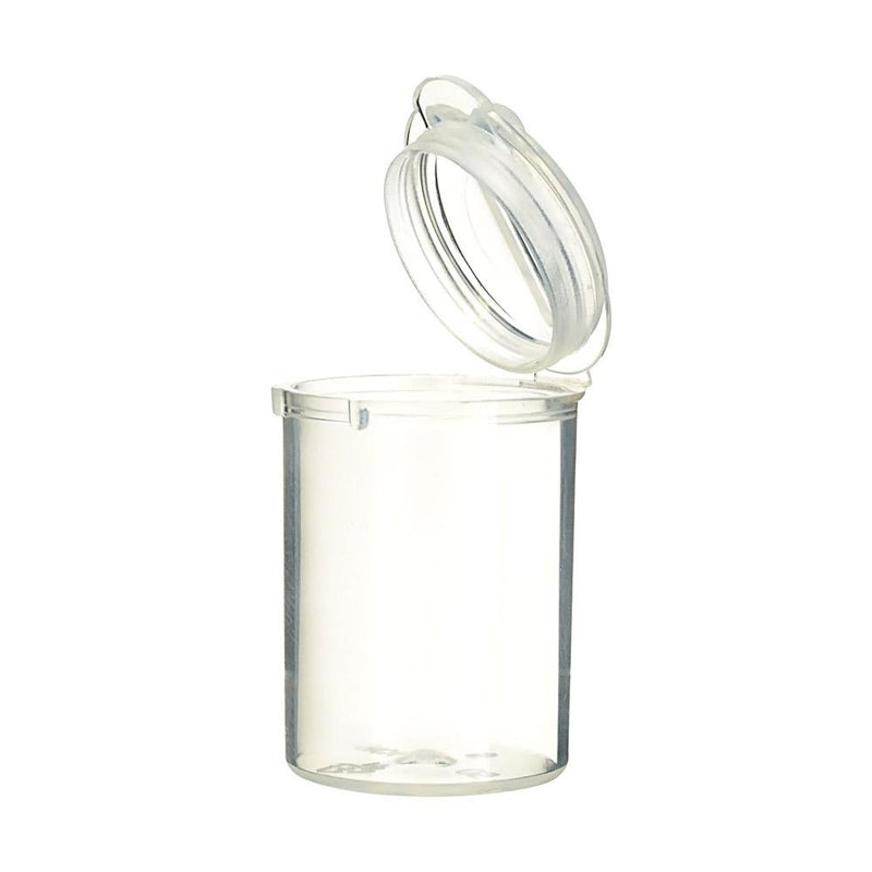 Pop Top Concentrate Containers 5ml - Clear - 100 Count