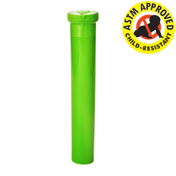 Green CR Blunt And Cone Tubes 116mm - 500 Count