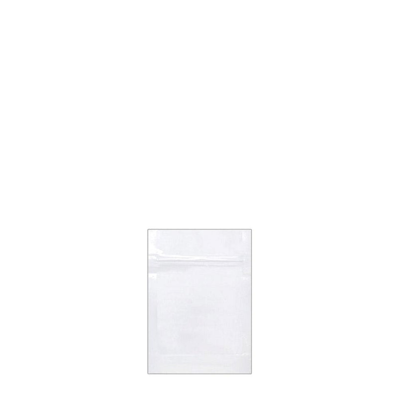 Mylar Bag Vista White 1 Gram - 1,000 Count
