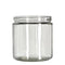 16oz Glass Jars w/ 89/400 Threading - 12 Count