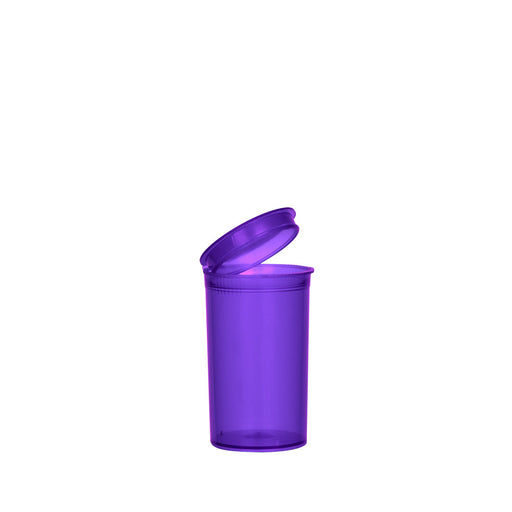 Purple Pop Top Bottle 19 Dram