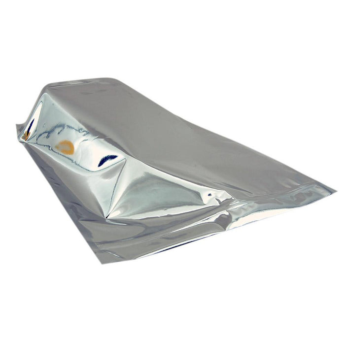 Mylar Bag Vista Silver 1 Pound- Tear Notch - 100 Count