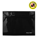 "Pinch 'n' Slide Child Resistant Mylar Bags - Black 12"" x 9"""