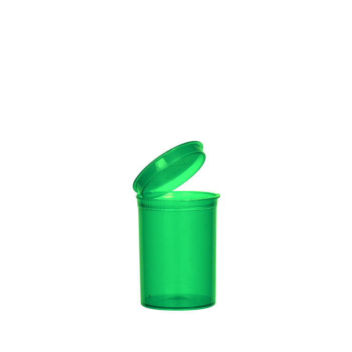 Green Pop Top Bottle 30 Dram