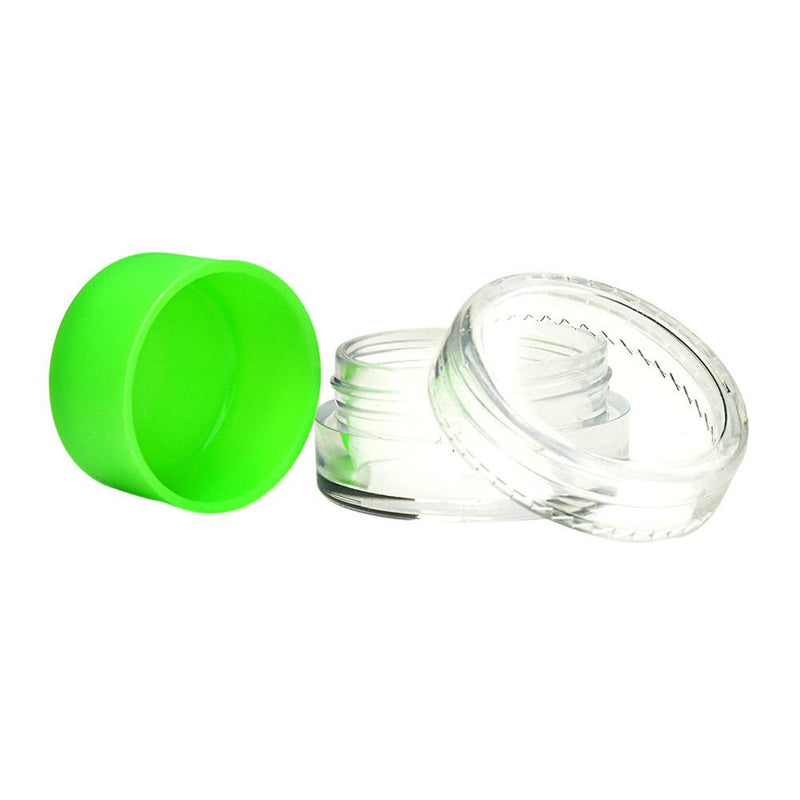 Plastic Screw Top Concentrate Containers w/ Silicone 5ML