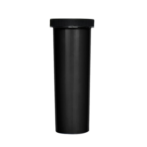 60 Dram Palm & Turn Cap Vial Black