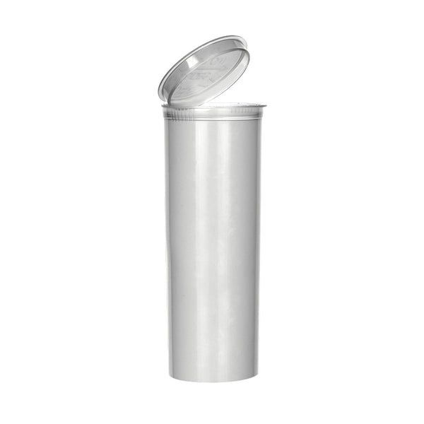 Silver Pop Top Bottle 60 Dram