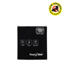 "Pinch 'n' Slide Child Resistant Mylar Bag Black 3.4"" x 3.7"" 250 Count"