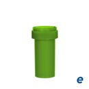 Economy Reversible Cap Vial Opaque Green 13 Dram