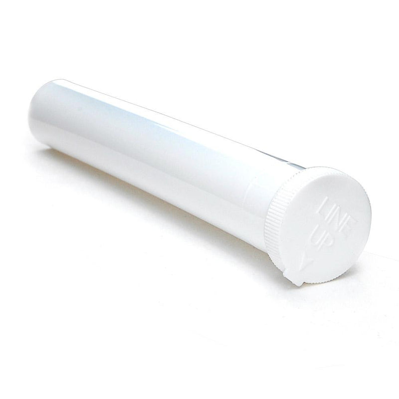 White Child Resistant Blunt and Cone Tubes - 500 Count