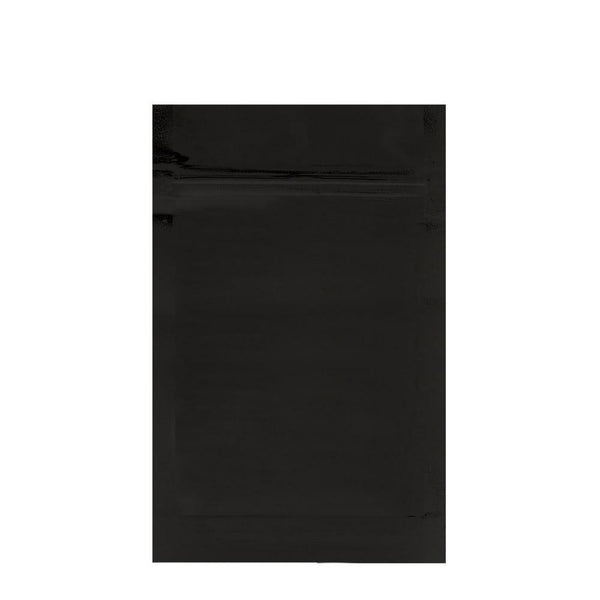 Mylar Bag Vista Black 1/2 Ounce - 1,000 Count
