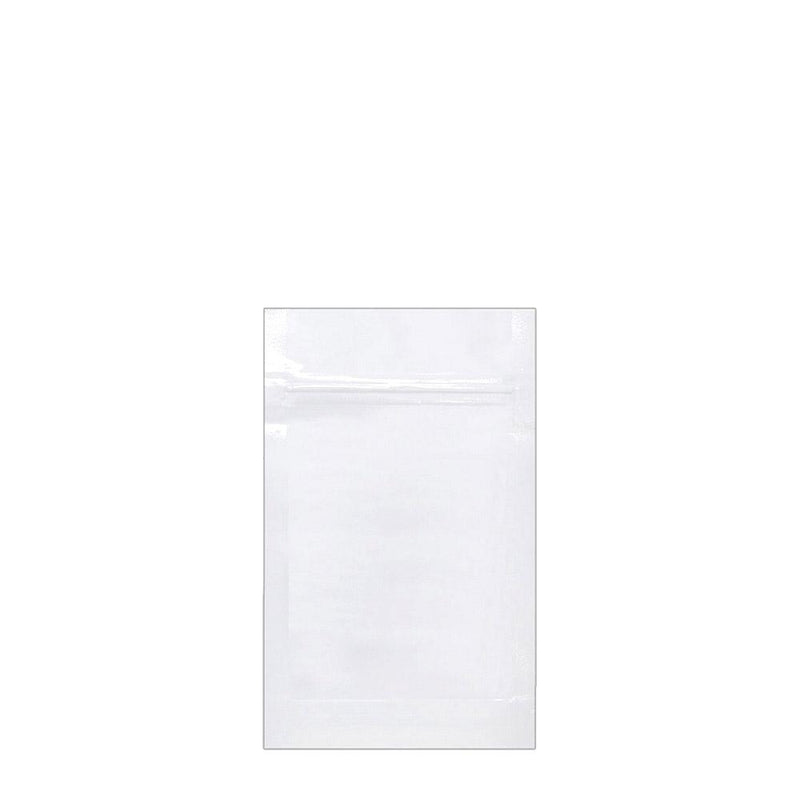 Mylar Bag White 1/4 Ounce - 1,000 Count