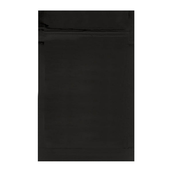 Mylar Bag Black 1 Ounce - 1,000 Count