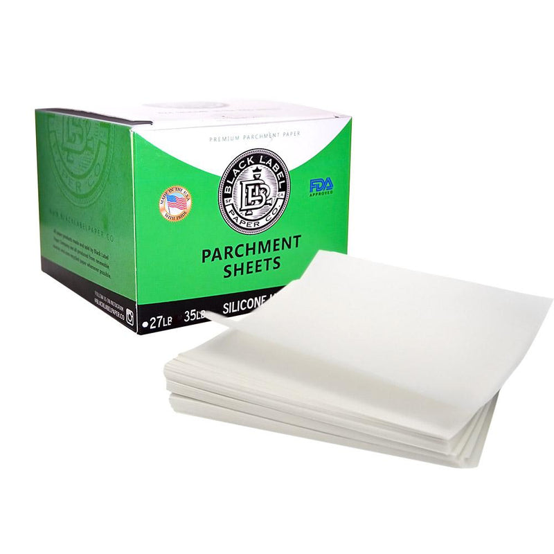 "Black Label - ULTRA Silicone Coated Parchment Paper - 4"" x 4"""