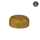 Arched Bamboo Wood Print Child Resistant Cap 53 MM - 120 Count