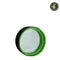 Child Resistant Tamper Evident Cap Black & Green - 600 Count