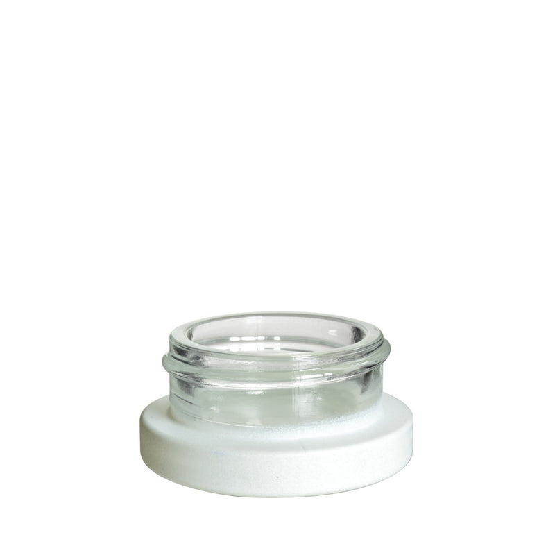 9ml White Glass Dab Jars - 320 Count