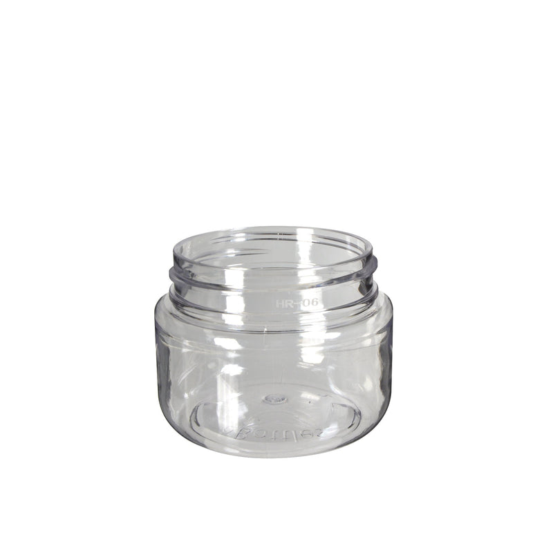 Clear Plastic Child Resistant Jar 20 Dram - 600 Count JAR ONLY