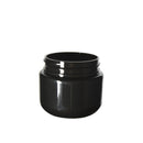 Black Plastic Child Resistant Jar 30 Dram - 600 Count JAR ONLY